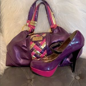 Purse and shoes sets and single shoes for sale!!!